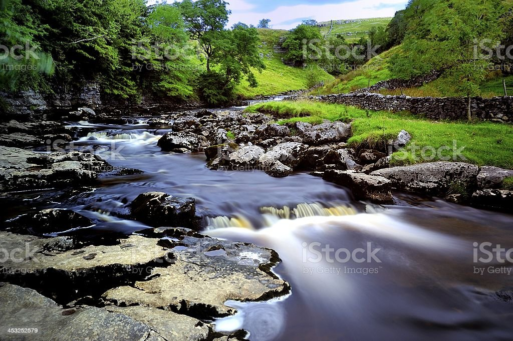 River Twiss stock photo