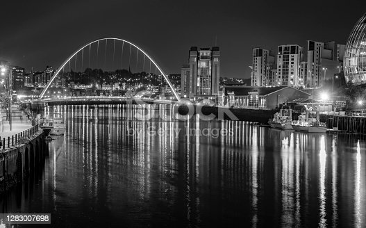 istock River Tyne Gateshead Millennium bridge 1283007698