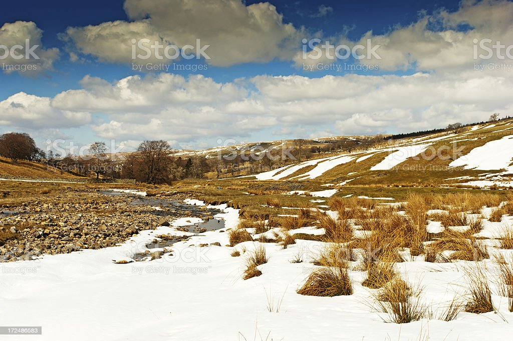 River Tyne near its source royalty-free stock photo
