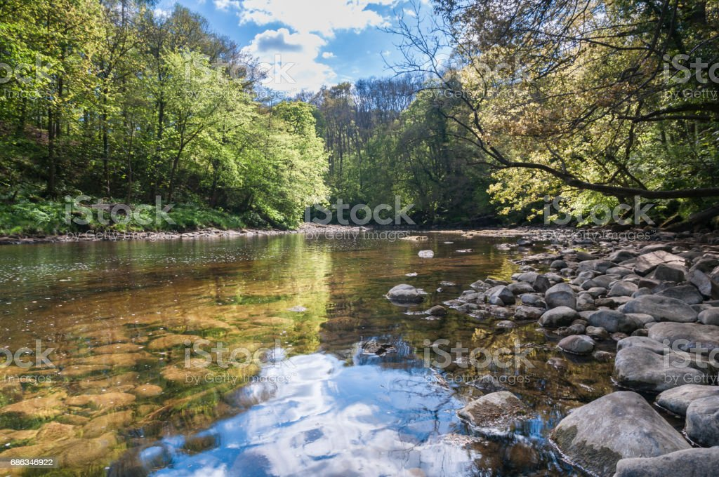 River Ure stock photo
