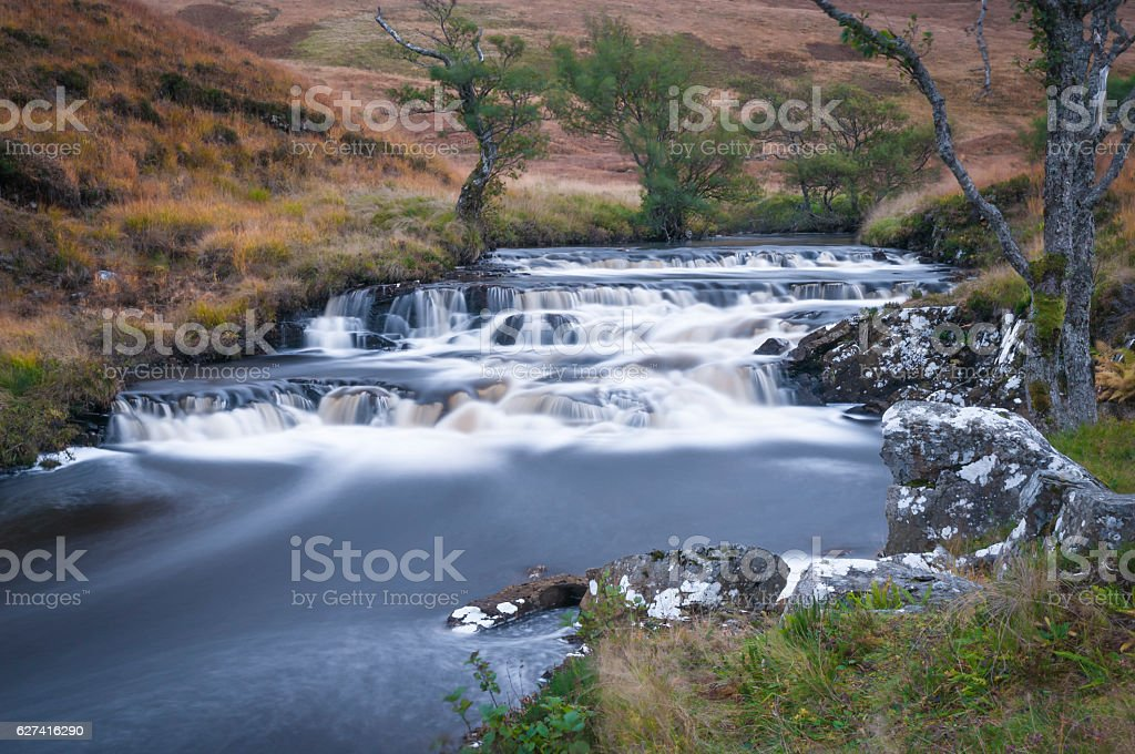 River Vagastie stock photo