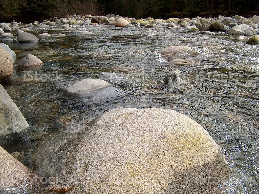 River Waters royalty-free stock photo
