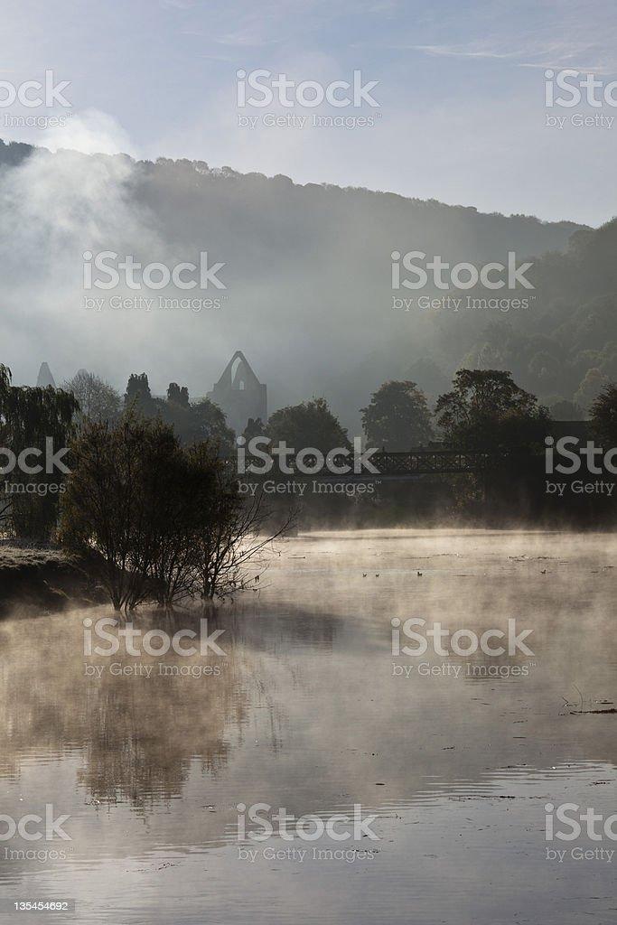 River Wye stock photo