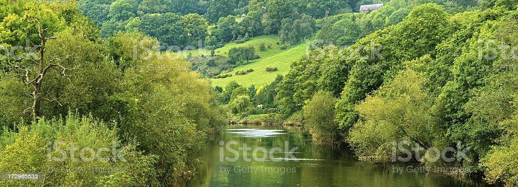 river wye royalty-free stock photo