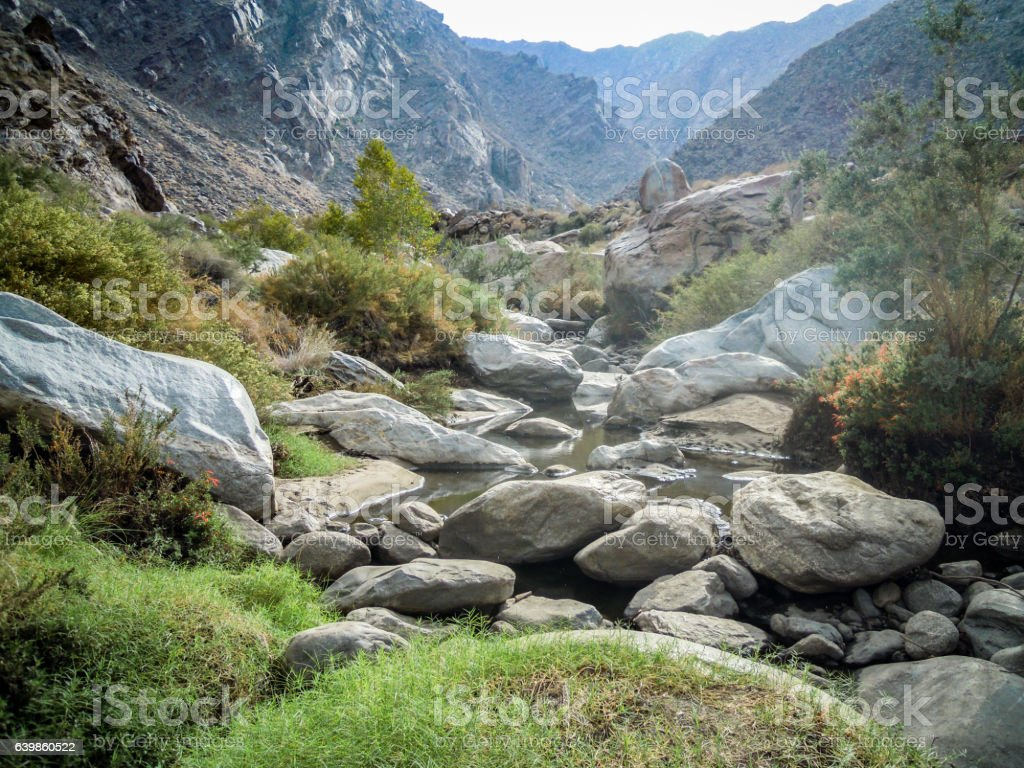 River, Yucca Valley, California - Stock image stock photo