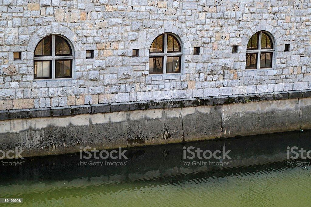 Brzeg rzeki zbiór zdjęć royalty-free