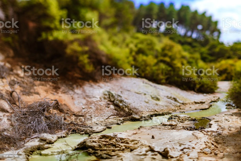 riverbed stock photo