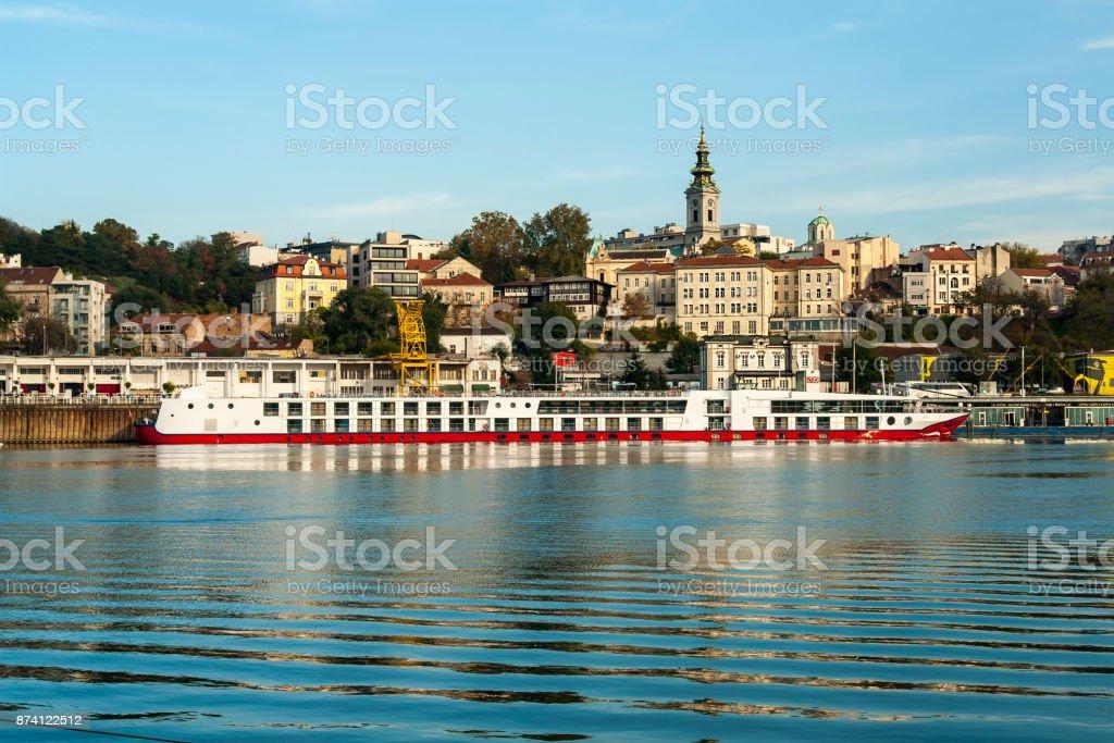 Bateau sur le Danube, Belgrade, Serbie - Photo