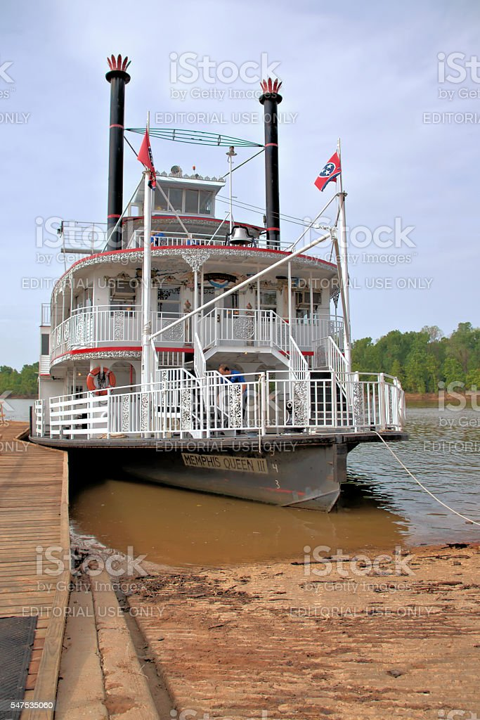 Riverboat stock photo