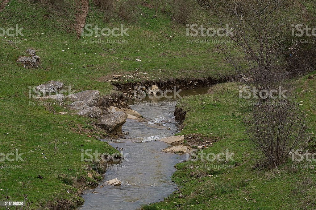 Rivers and streams stock photo