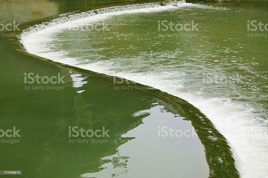 Rivers - Bagua elements stock photo