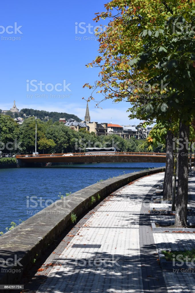 Rivers that cross coastal cities. royalty-free stock photo