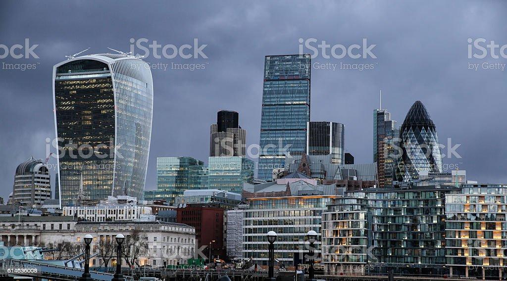 Riverside London II stock photo