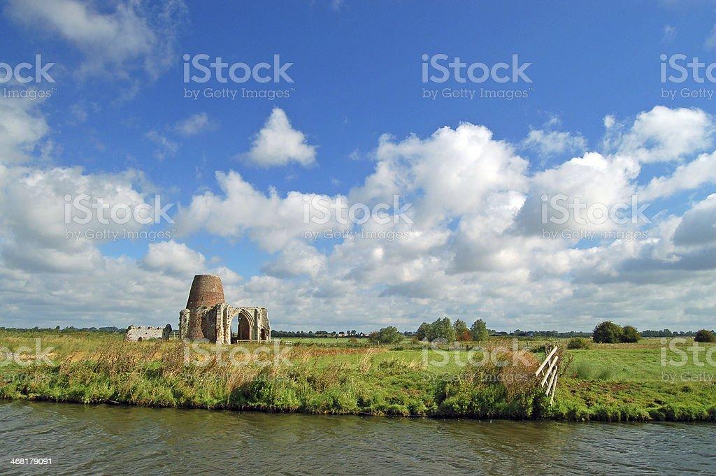 Ruínas do Riverside - foto de acervo
