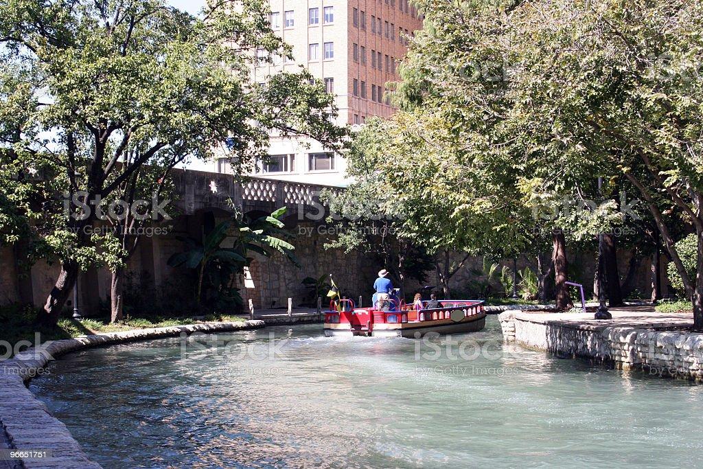 Riverwalk in San Antonio, Texas stock photo