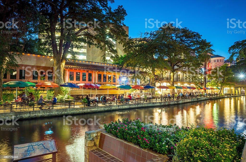 Riverwalk San Antonio royalty-free stock photo