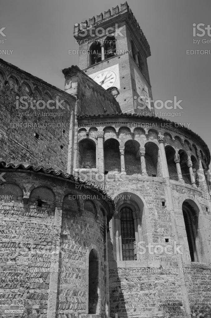 Rivolta d'Adda (Cremona, Italy): San Sigismondo, medieval church stock photo