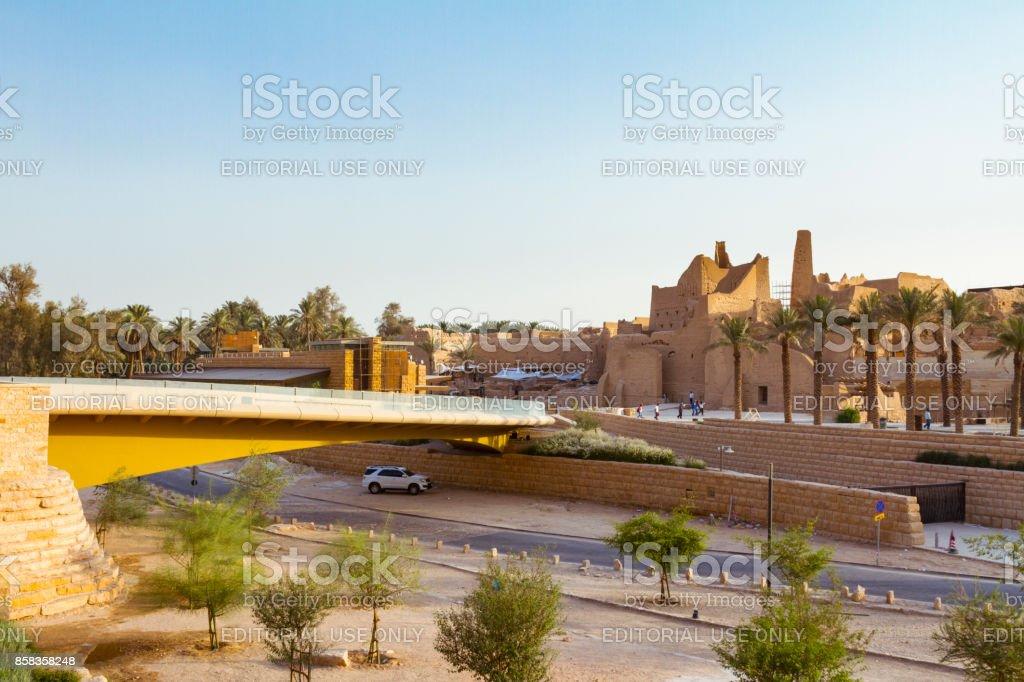 Riyadh, historic Diriyah district stock photo