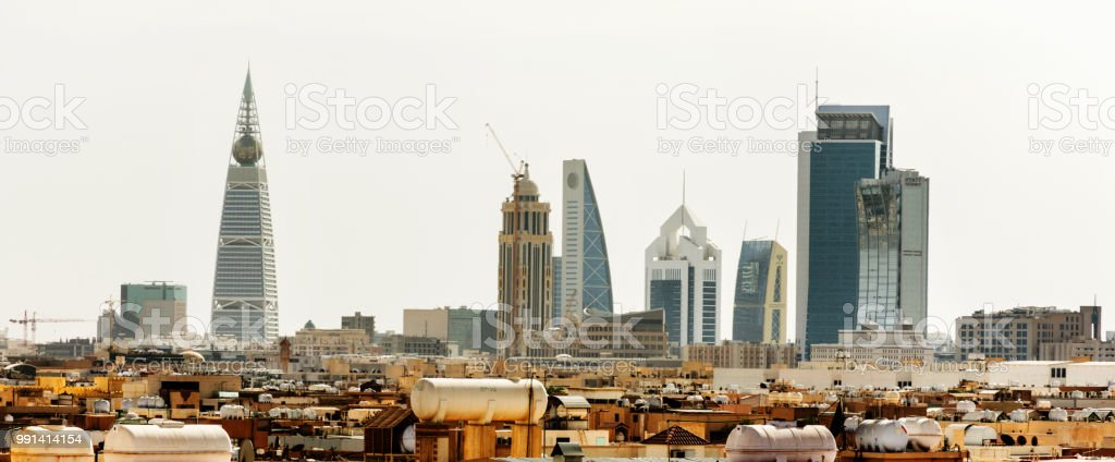 Riyadh, Saudi Arabia stock photo