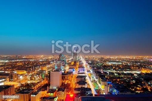 istock Riyadh skyline at night #9, Capital of Saudi Arabia 939989932