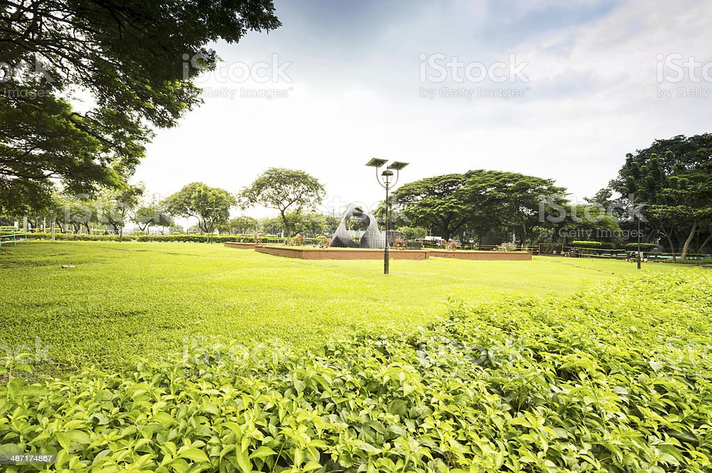Rizal Park, City of Manila, Philippines royalty-free stock photo