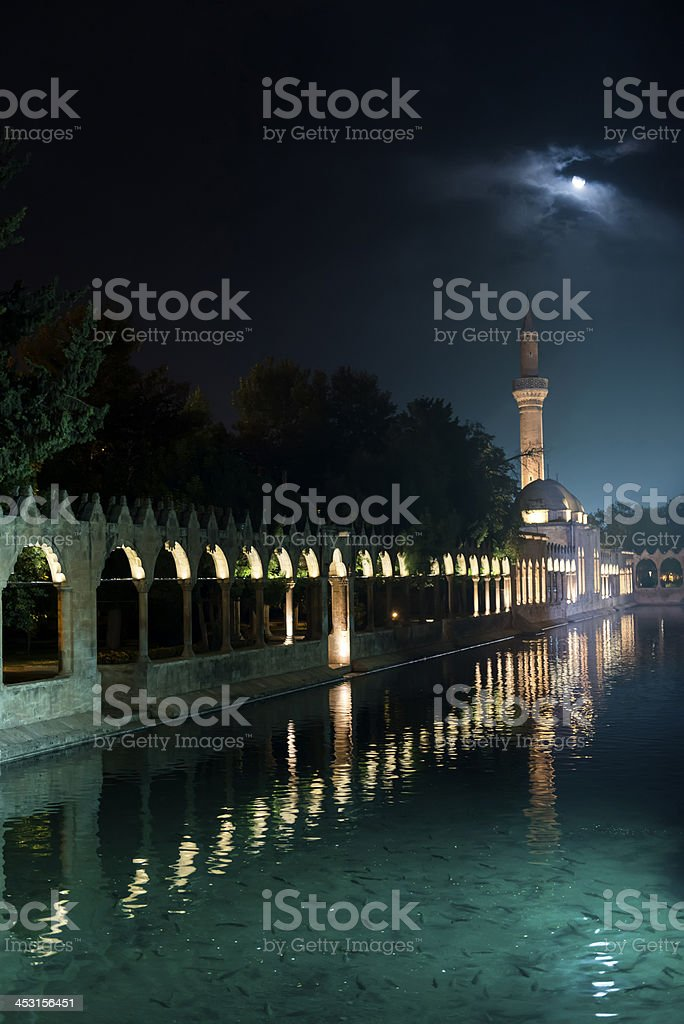 Rizvaniye Mosque, Sanli Urfa stock photo