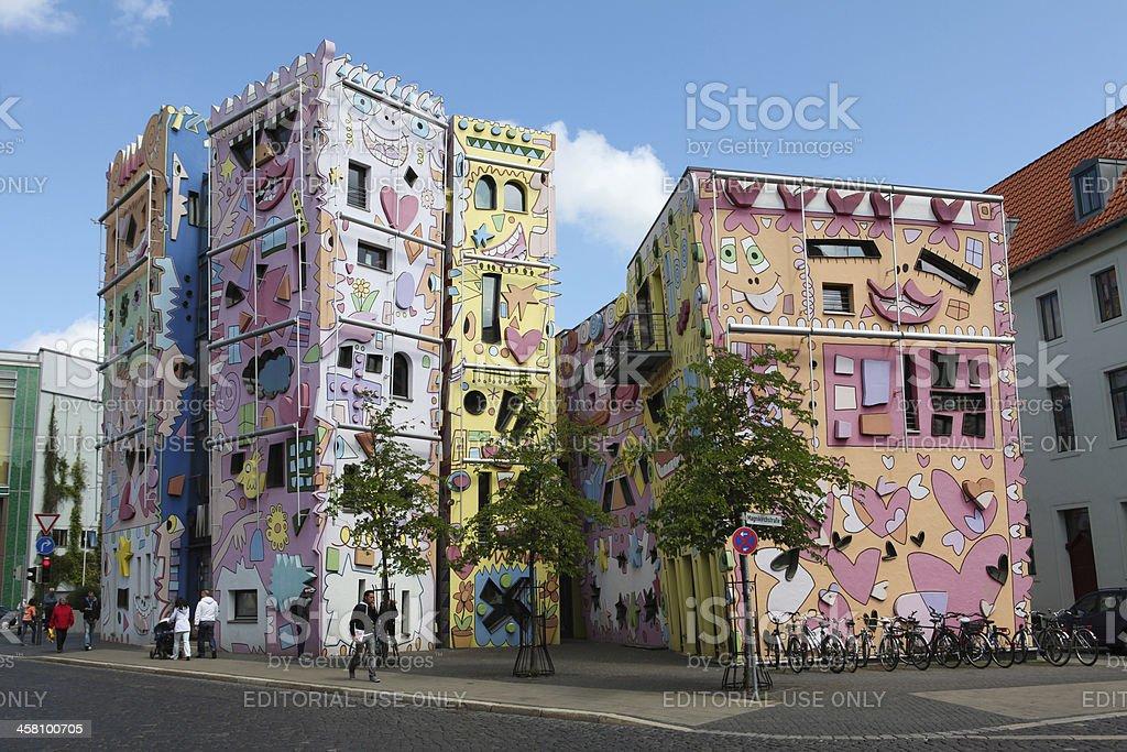 Rizzi-Haus in Braunschweig stock photo