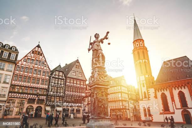 Römerberg Altstädter Ring In Frankfurt Am Main Deutschland Stockfoto und mehr Bilder von Frankfurt am Main