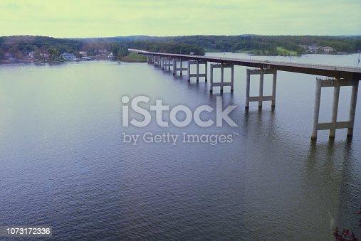 a bridge crossing Lake of the Ozarks, Missori