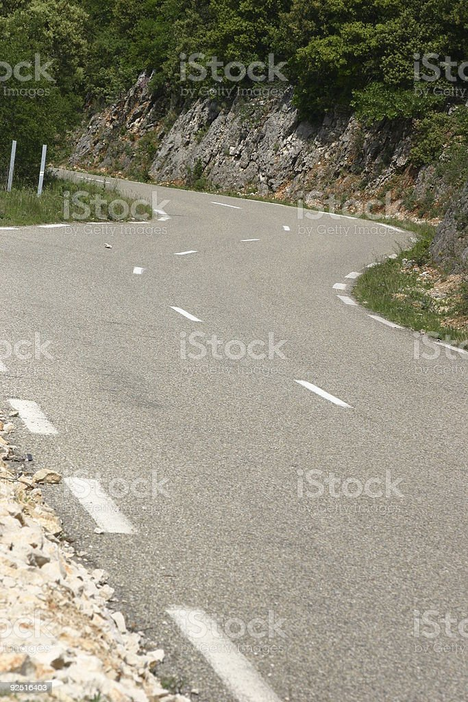 Road ahead royalty-free stock photo