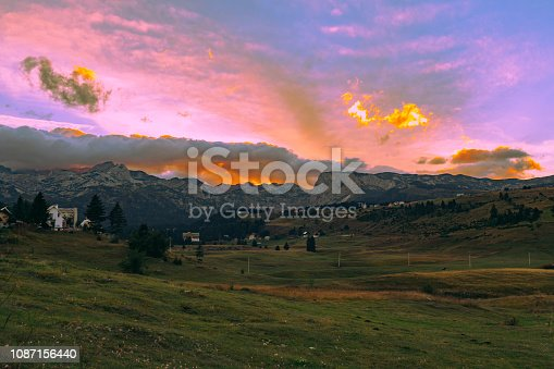 Freedom, Travel, Exploration, Durmitor, Montenegro, Meadow, Europe, Field