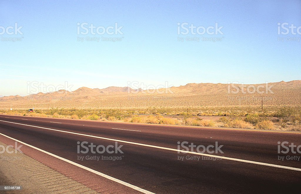 Road Arizona USA stock photo