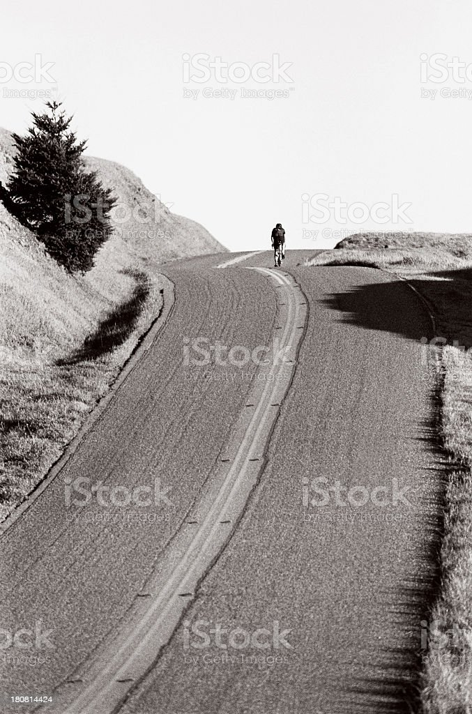 Road Bicycling stock photo