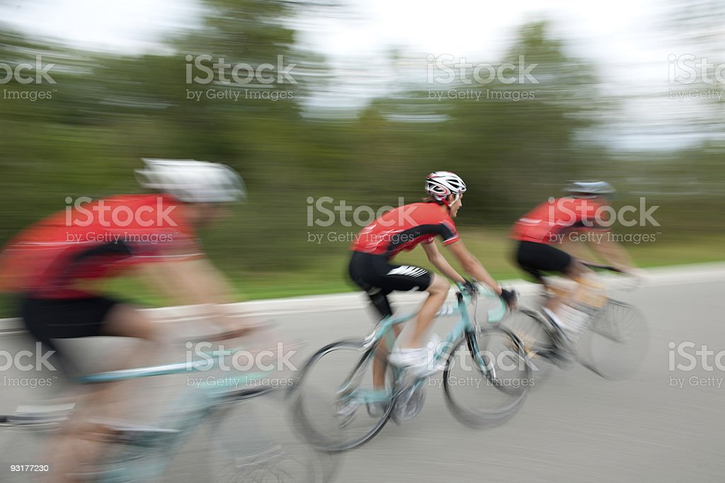 Road Biking royalty-free stock photo