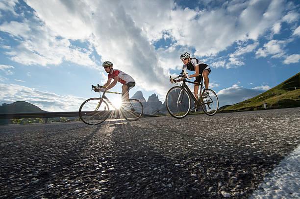 Straße Radfahren, ohne Worte – Foto