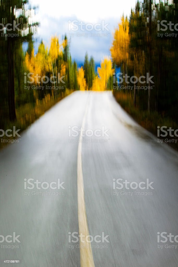 Road Blur royalty-free stock photo