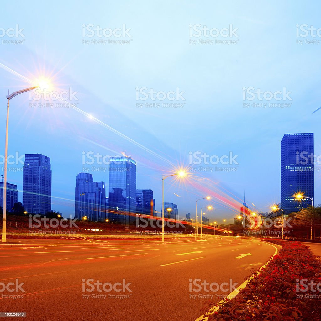 road city royalty-free stock photo