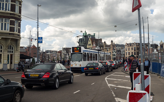 istock Road City Traffic in Amsterdam 512994692