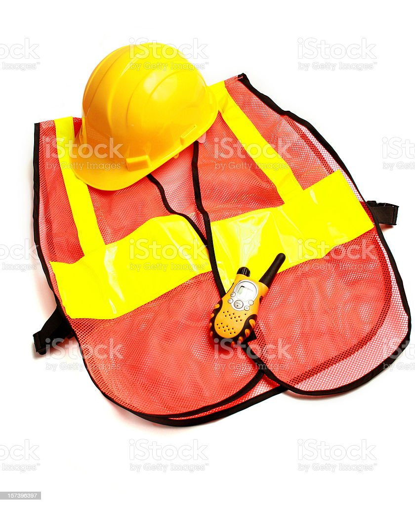 road construction gear stock photo