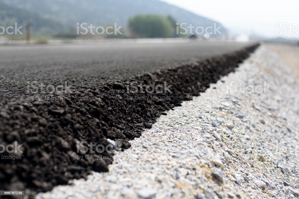road construction foto stock royalty-free