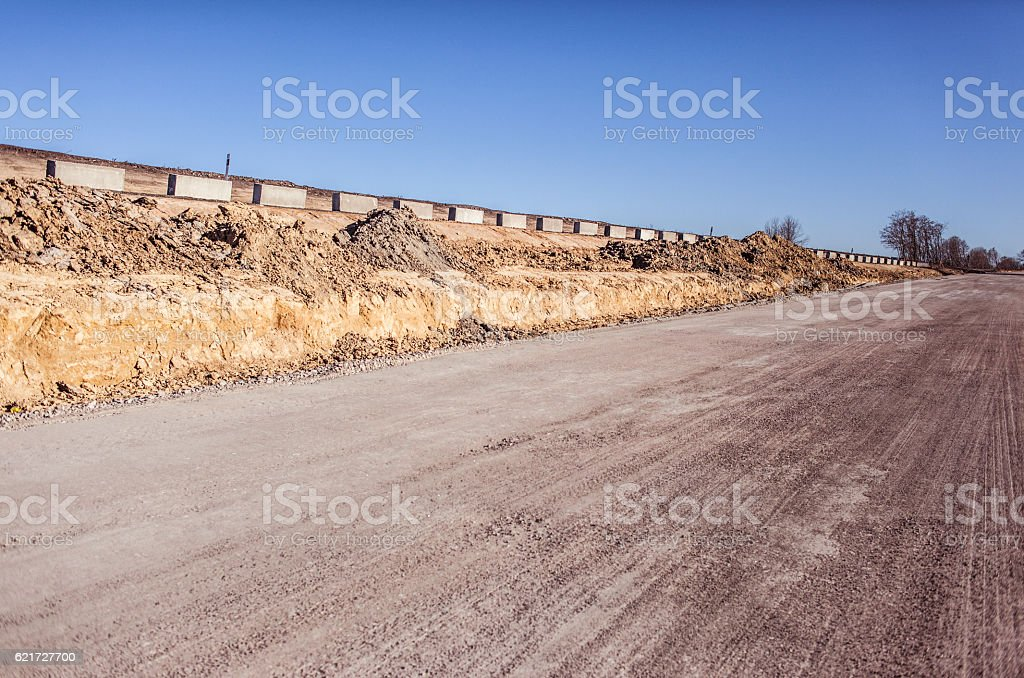 Road Construction Process Highway Repair And Maintenance Stock Photo -  Download Image Now