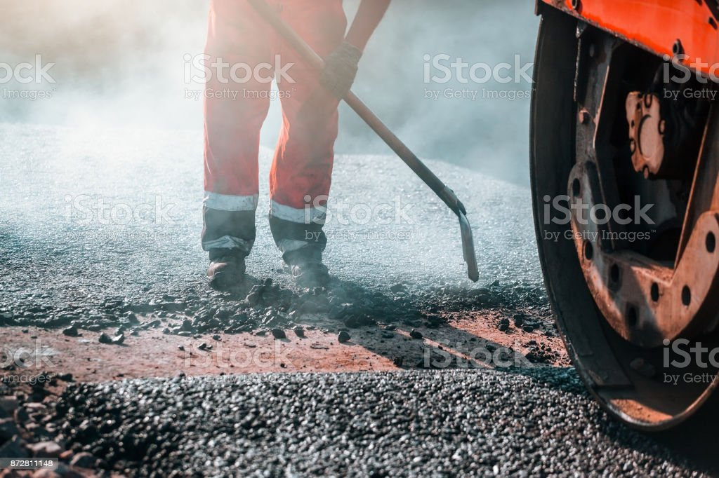 road construction worker – Foto