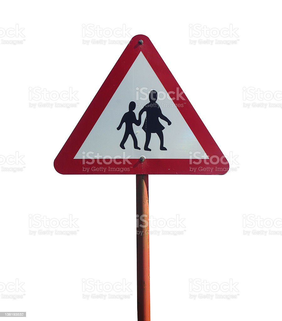 road crossing sign royalty-free stock photo