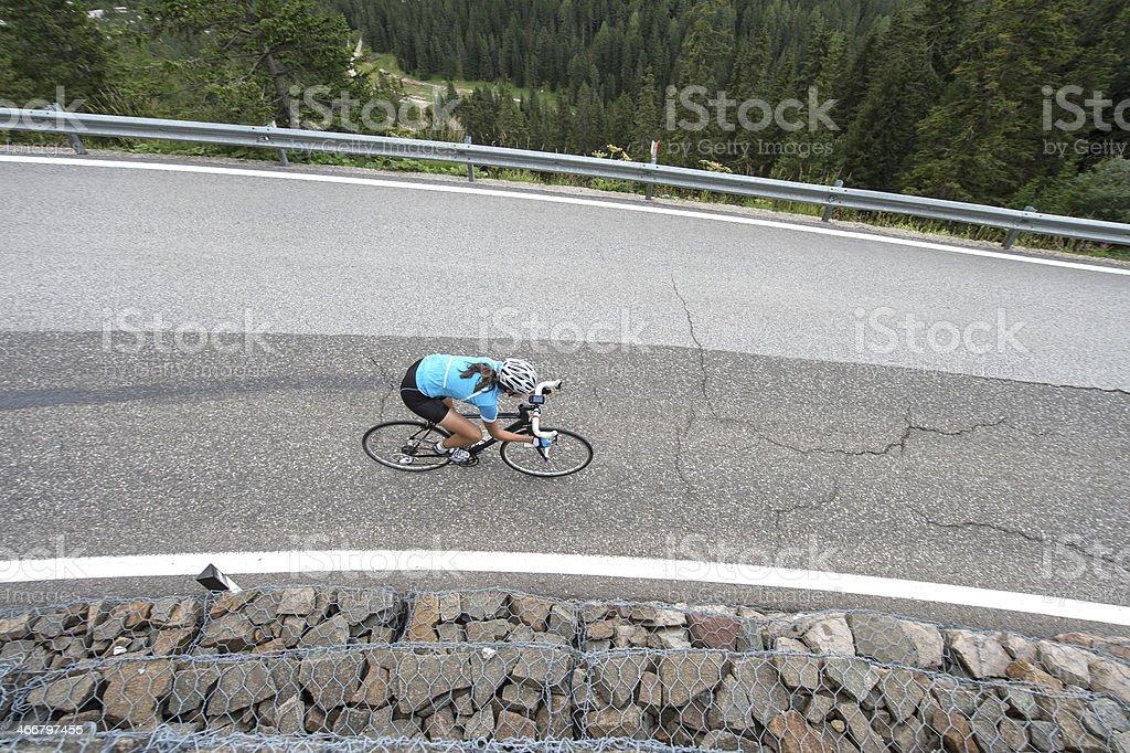 Straßenradfahren downhill – Foto