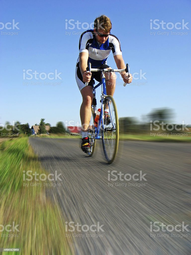 Road Cyclist royalty-free stock photo