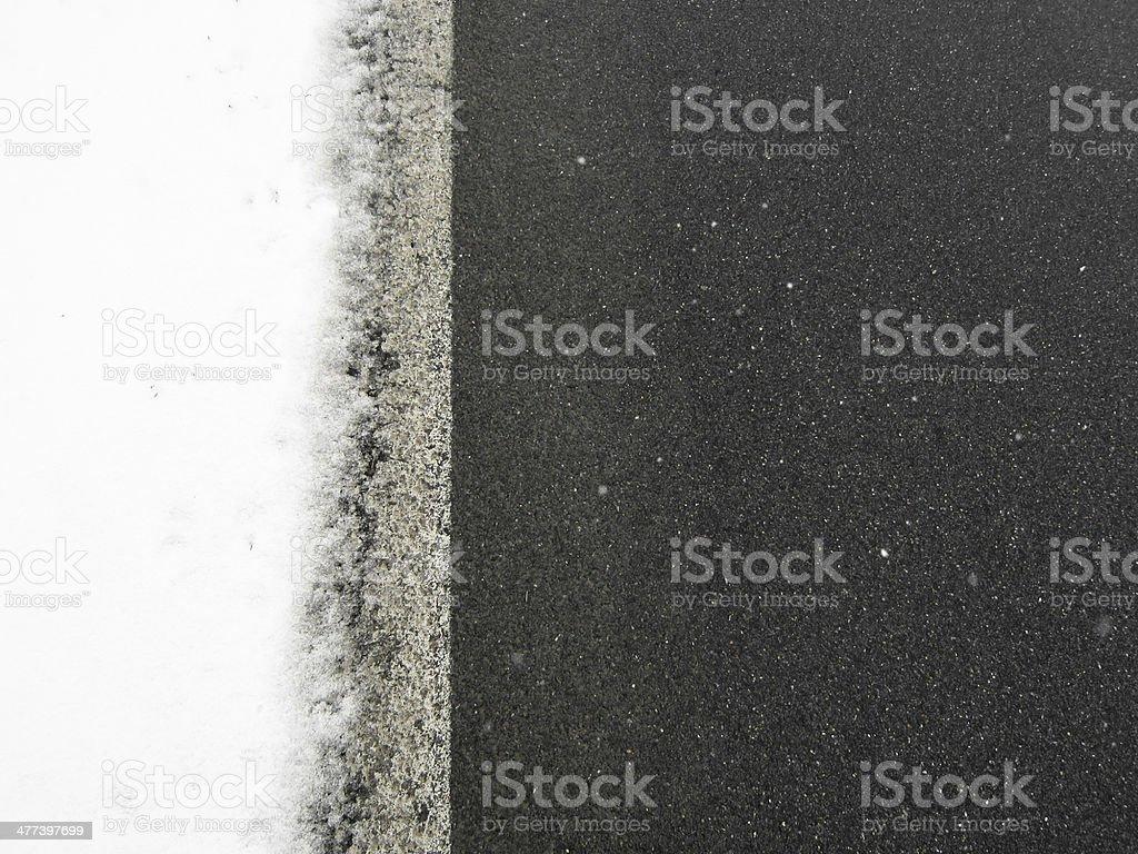 road edge stock photo