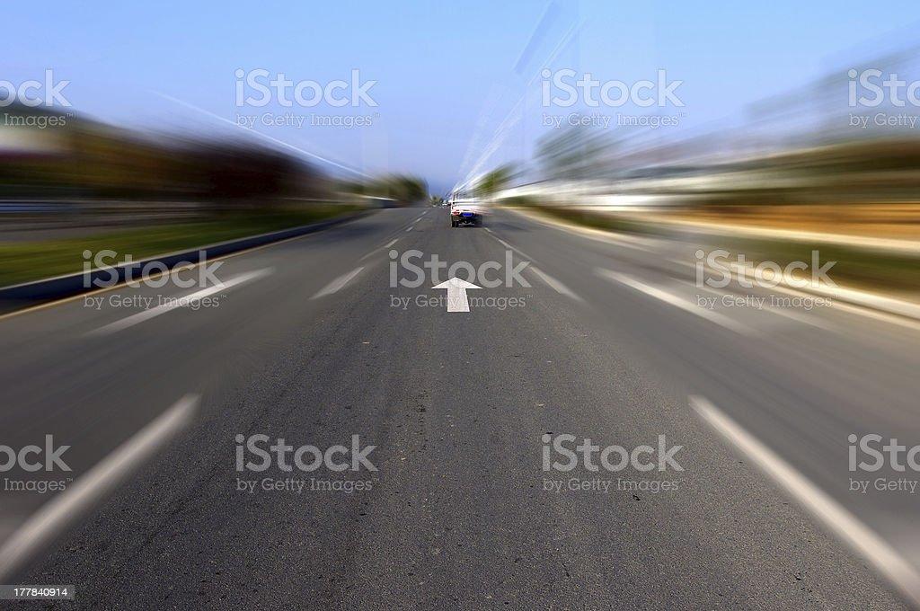 Road forward royalty-free stock photo