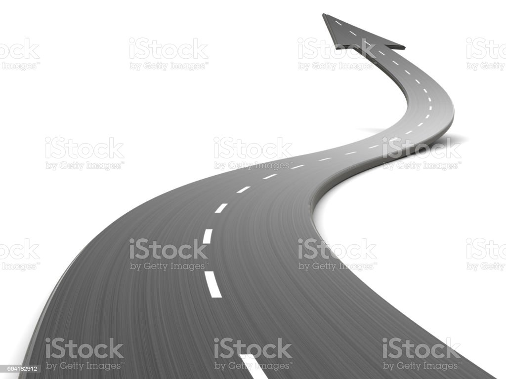 road forward stock photo