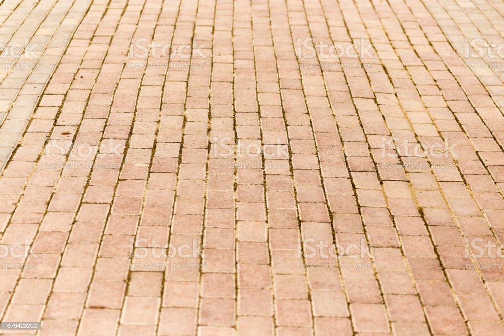 Route de des blocs de Pierre en tant qu'arrière-plan photo libre de droits