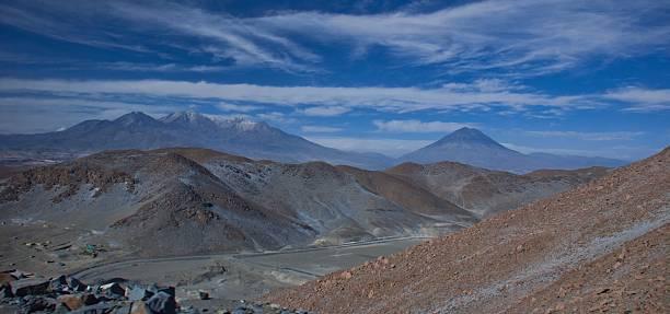 Road from Matarani to Arequipa, Peru – Foto